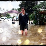 Siem Reap under water